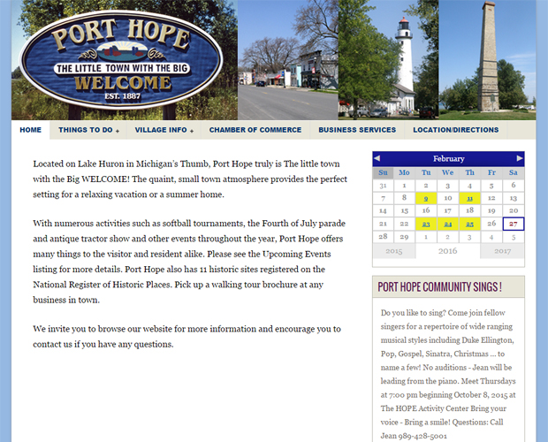 Village of Port Hope