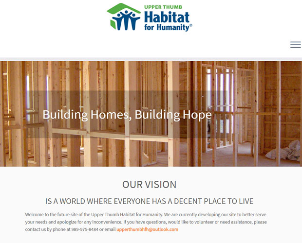 Upper Thumb Habitat for Humanity