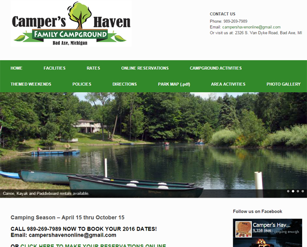 Camper's Haven Family Campground